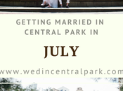 Getting Married Central Park July