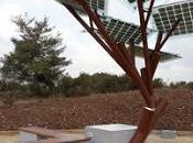 Solar-Powered Tree Solar Charging Station