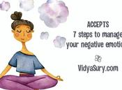 ACCEPTS Steps Manage Your Negative Emotions Healthy