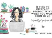 Increase Productivity When Work from Home Tips)
