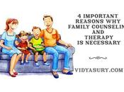 Important Reasons Family Counseling Therapy Necessary
