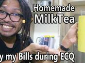 #StayHome Bill During Lockdown #WithMe Homemade MilkTea Recipe