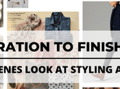 From Inspiration Finished Styling: Behind Scenes Look Styling Virtual Client