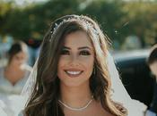 Rustic Summer Wedding Nicosia with String Lights Flowers Vivid Colors Pierre