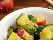 Smashed Cucumber Apple Salad