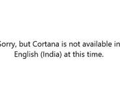 Cortana Available Your Region Windows Version 2004
