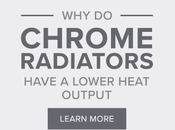 Chrome Radiators Have Lower Heat Output?