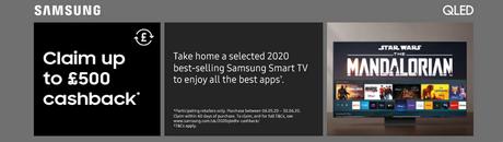 Samsung Smart £500 Cashback!