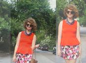 Outfit: Colors Galore, Plus Florals Peplum
