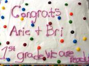 Kindergarten Graduation Rainbow Cake