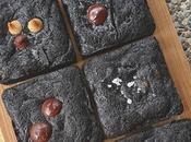 Fudgy Black Brownie