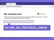 ERR_SSL_PROTOCOL_ERROR Google Chrome