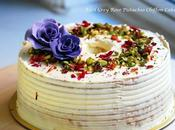 Inches Earl Grey Rose Pistachio Chiffon Cake
