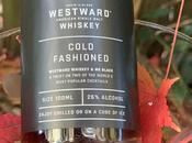 WestWard Whiskey Black Cold Fashioned Cocktail