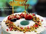 Earl Grey Rose Pistachio Chiffon Cake Father Birthday