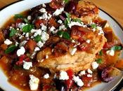 Greek Chicken with Tomatoes Feta