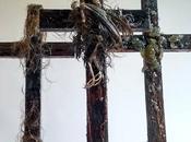 Burning Crosses Crucifying Birds