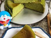 抹茶巴斯克烤芝士蛋糕 Matcha Basque Burnt Cheesecake