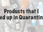 Quarantine Empties: Products That Have Used Months