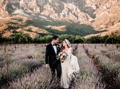 Gorgeous Outdoor Wedding with Dried Flowers Marsala Peonies│ Athina Stephanos