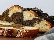 Hojicha Challah Braided Bread