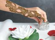 Gorgeous Colorful Stone Studded Bridal Mehndi Designs