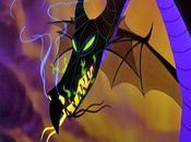"Commission: Paper Mache ""Maleficent"" Dragon Trophy"