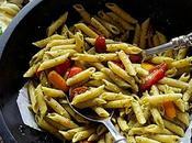 Skillet Basil Pesto Pasta