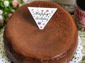 Chocolate Basque Burnt Cheesecake