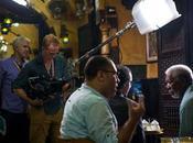 Metzger Filming Story with Morgan Freeman