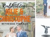 Julie Christophe's Wedding Underneath Bethesda Terrace