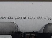 Field Guide Hunting Down Script Typewriters.