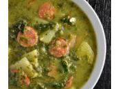 Caldo Verde (Portuguese Kale Potato Soup)
