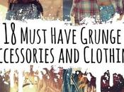 Must Have Grunge Accessories Clothing