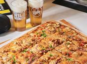 """Buffalo Wild Wings Launches """"Football Field Pizza"""" Family Enjoy"""