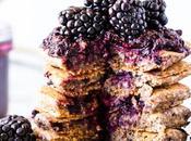 Gluten-Free Vegan Blackberry Pancakes