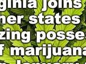 Virginia Legalizes Possession Marijuana