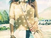 Femme MODA: Half-tuck Polka Dots