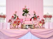 Pink White Christening with Splash Inspired Occasion