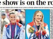 Team Running London 2012 Rebecca Adlington Lizzie Armitstead Medals