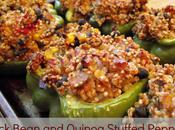 Black Bean Quinoa Stuffed Peppers