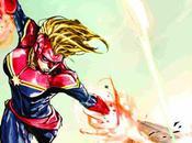 Preview: Captain Marvel (Unlettered)