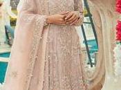 Pakistani Bridal Wear Blouse Flare Lehenga