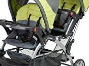 Stand Stroller Growing Family
