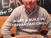 Make Built-in Teppanyaki Hibachi Grill Your House