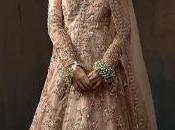 Pakistani Wedding Wear Peach Blouse Lehenga Dupatta