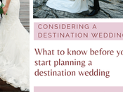 What Need Know Before Planning Destination Wedding