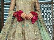 Maroon Pakistani Bridal Wear Half Blouse Lehenga