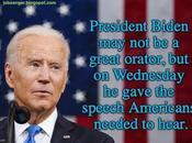 Biden's First SOTU Speech Just What America Needed