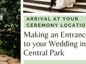 Ways Make Entrance Wedding Central Park
